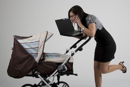 Business-Mütter: Spagat zwischen Familie und Beruf