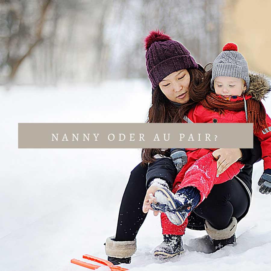Au Pair oder Nanny? Was ist das Richtige für uns?